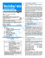 VectoBac WDG MSDS