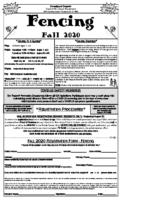 Fencing Flyer (PDF)