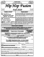 Hip Hop Fusion Flyer (PDF)