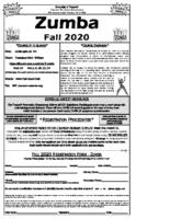 Zumba Flyer (PDF)