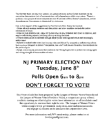 Page 8 from VOTERS GUIDE for 2021 District 37 Democratic Primary