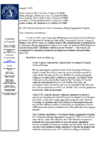 2021-08-04_Township Clerk Response Letter to 2021 CCA Petition